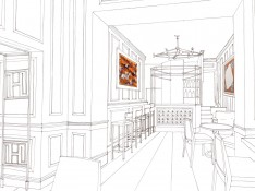 £D Render, The Halcyon Hotel, Bath
