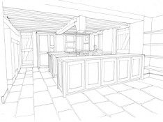 3D Render, Sussex Farm, Surrey