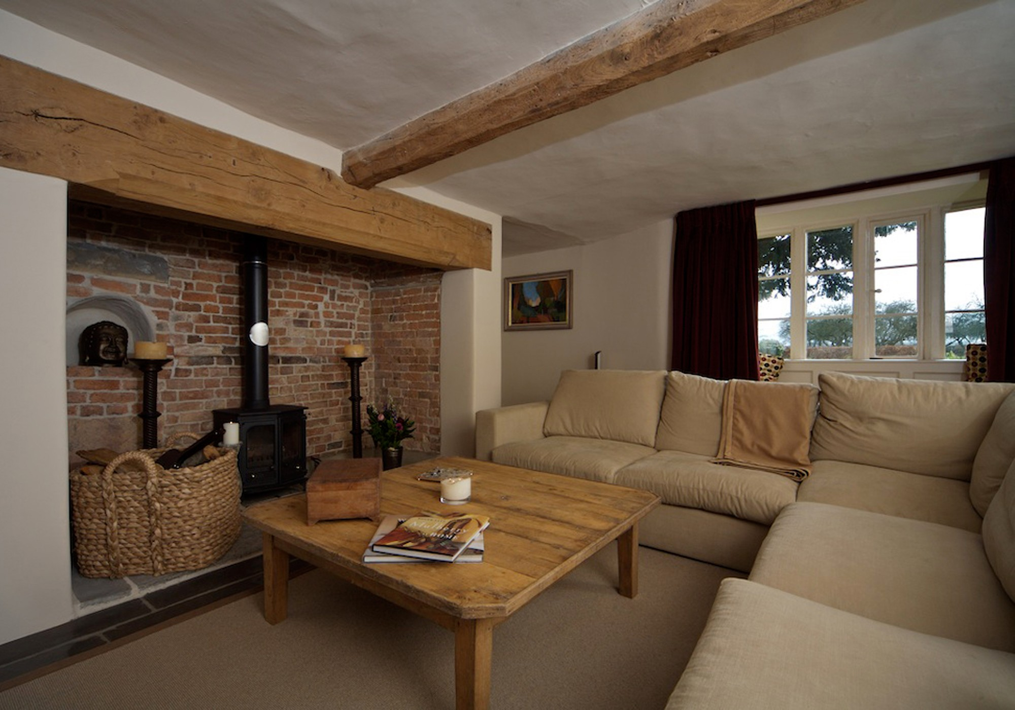 Bushfurlong 17th century farmhouse devon for Interior designs for homes pictures