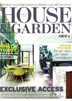 Front Cover House and Garden May 2013