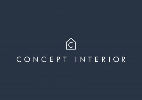 Concept Interior Logo - Negative - 1 LINE