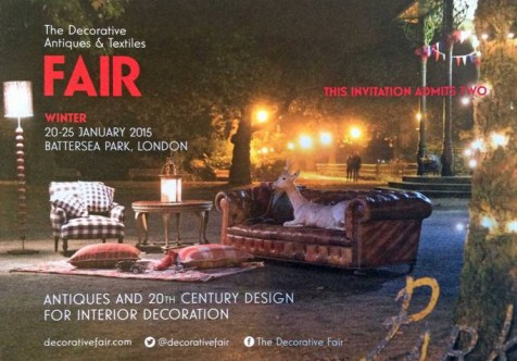 London decorative antiques fair